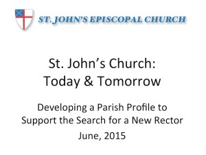 SJC Parish Profile