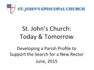 SJC Parish Profile